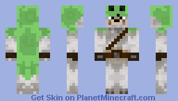 Wolf Slime Hunter Minecraft Skin