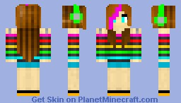 The gallery for --> Minecraft Girl Skin Templates