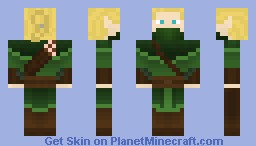 Woodland Elf Minecraft Skin