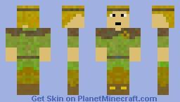 RPG WoodElf Minecraft Skin