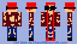 Wounded Wizard Minecraft Skin
