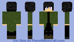 Xadrol with coat Minecraft Skin