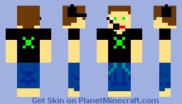 Xbox Player (ORIGINAL) Minecraft Skin