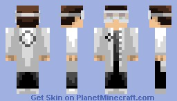 Aperture Laboratories Scientist! - Simple Shading - Pop reel :3 Minecraft
