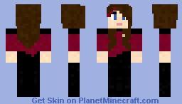 Xephos Girl Minecraft Skin