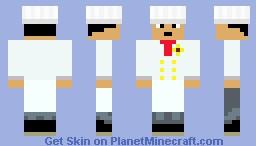 chef masterchef-Red Minecraft Skin