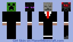 Mob Man Minecraft Skin