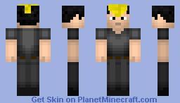 Ryuji Yamazaki (King of Fighters) Minecraft Skin