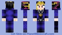 Yugi Moto YuGiOh Skin Series Minecraft Skin - Skins para minecraft pe yugioh