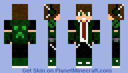 Greenman Minecraft Skin