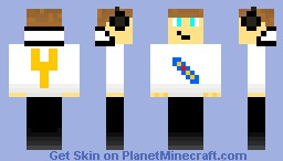 Yorkie skin (TheYorkie request) Minecraft Skin