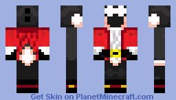 Black Christmas Yoshi Minecraft Skin