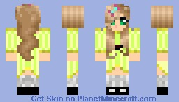 Young Little Girl 5-7 year old Minecraft Skin