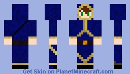 Young Mage Minecraft Skin