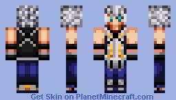 Young Riku (Kingdom Hearts series) Minecraft Skin