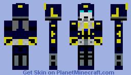 Primus (transformers) Minecraft Skin