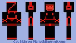 Zac1012 space skin Minecraft Skin