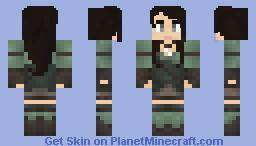 Female Thief/Rogue Minecraft Skin