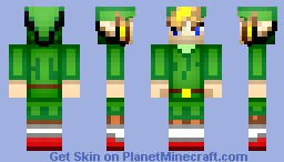 100th Submission Minish Cap Style Link - Instant Minecraft Skin