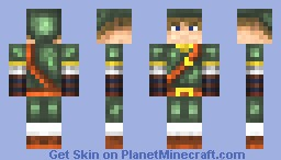 Link [ Legend Of Zelda ] Minecraft Skin