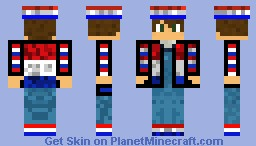 Dutch Man Minecraft Skin