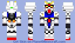 Gundam Zephyr Minecraft Skin