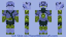 Zeratul - StarCraft 2 (much better in preview) Minecraft Skin