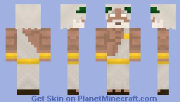 Zeus 'Father of God and Men' Minecraft Skin