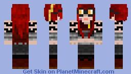 Zoeya tekkit rebirth Minecraft Skin