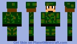 WWII Soldier Minecraft Skin