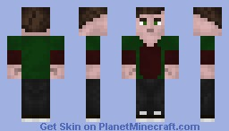 Guy in a Jacket Minecraft Skin