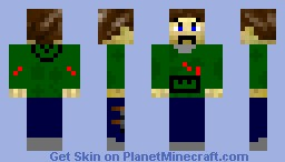 Guy in camo hoodie (for Apocolypse Skin Contest) Minecraft Skin