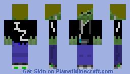 Zombie Dude Minecraft Skin