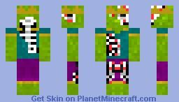 Zombie King Minecraft Skin