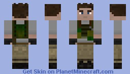 Zombie Survivor Minecraft Skin