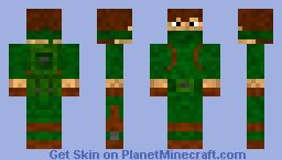 Zombie Apocalypse Survivor Minecraft Skin