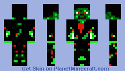 Zombie With Torn Tuxedo Minecraft Skin