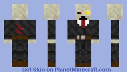 Zombie ( 3D Brain ) Minecraft Skin