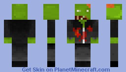 Office Zombie (contest entry) Minecraft Skin