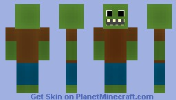 Zombie (First subscribers special!) Minecraft Skin