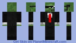 Security Guard Zombie Minecraft