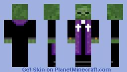 Zombipriester Minecraft Skin