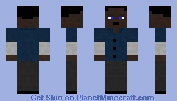 Franklin Clinton From GTA V Minecraft Skin