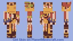 FFVI - Famed Mimic Gogo Minecraft Skin