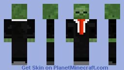 zombie in suit