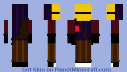 Hello Neighbor 2/Hello Guest - Visitor (the Guest) Minecraft Skin