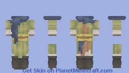 [𓄹] medieval trader / adventurer base Minecraft Skin