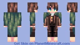 ♡ 𝓿𝒶𝓁𝓀𝓎𝓇𝒾𝑒𝓃 ♡ frodo baggins | lotr (+ other hobbits!) Minecraft Skin