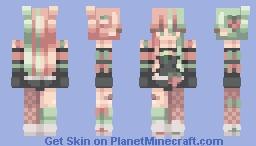 strawberry candy   rc Minecraft Skin