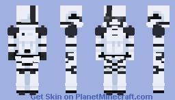 Storm trooper | Star Wars Minecraft Skin